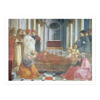 El entierro de St Stephen, detalle del ciclo Tarjetas Postales