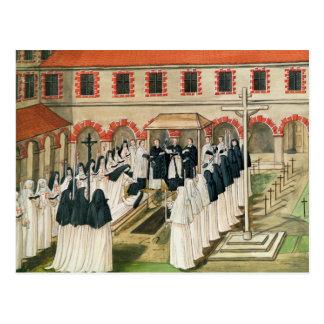 El entierro de una monja, del 'l'Abbaye de Postales