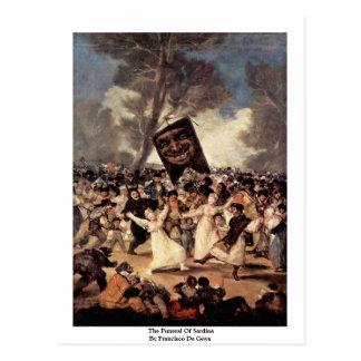El entierro del Sardina de Francisco De Goya Postales