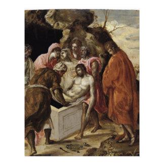 """""""El Entombment de Christ Tarjetones"""