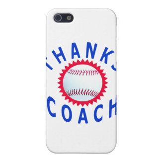 El entrenador de béisbol le agradece las tarjetas  iPhone 5 fundas