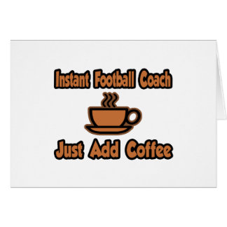 El entrenador de fútbol inmediato… apenas añade el tarjetón