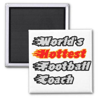 El entrenador de fútbol más caliente del mundo imán de frigorífico