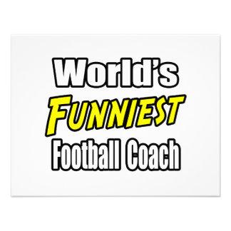 El entrenador de fútbol más divertido del mundo comunicados personales