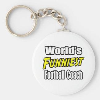 El entrenador de fútbol más divertido del mundo llaveros