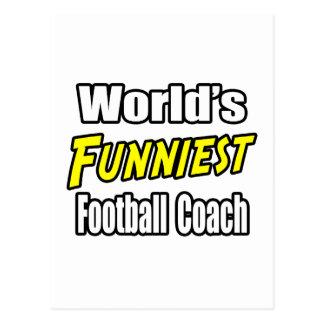 El entrenador de fútbol más divertido del mundo postal
