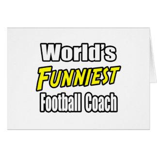 El entrenador de fútbol más divertido del mundo felicitaciones