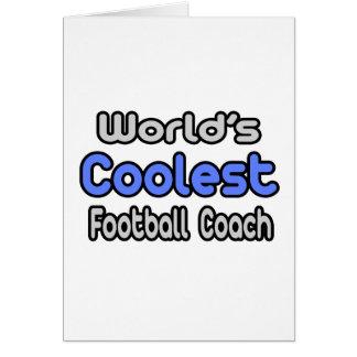 El entrenador de fútbol más fresco del mundo tarjetón