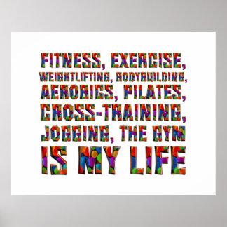 El entrenamiento SUPERIOR es mi vida Póster