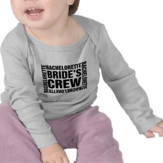 El equipo de la novia de Bachelorette Camiseta