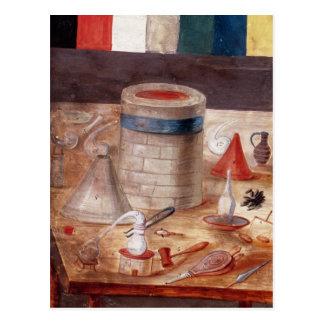 El equipo del alquimista escrito reputado tarjetas postales