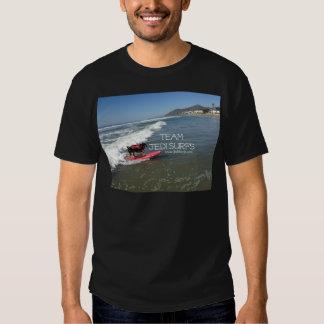 El equipo Jedi practica surf la línea Camisetas