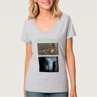 El ermitaño y el Zeppeln llevado Camiseta