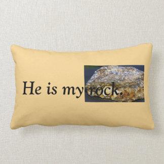 Él es mi almohada de tiro de la roca, lumbar