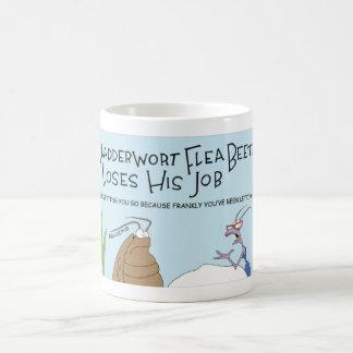 El escarabajo del bladderwort taza de café