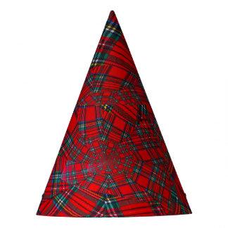el escocés coloreó el GORRA   del FIESTA del