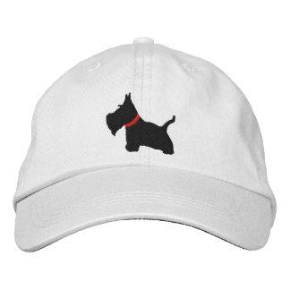 El escocés Terrier personalizó el gorra ajustable