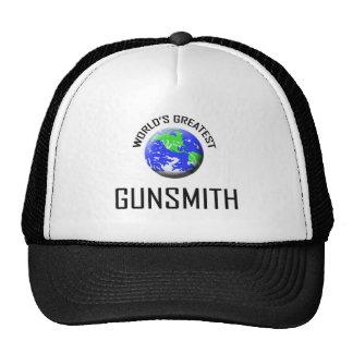 El escopetero más grande del mundo gorras