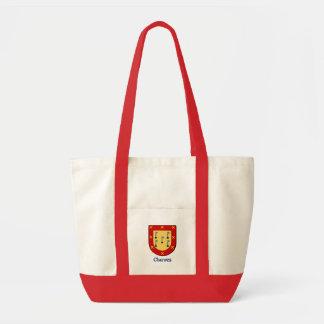 El escudo de la familia de Chavez lleva el bolso Bolsa Tela Impulso
