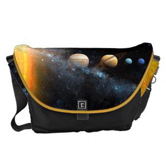 El espacio empaqueta la Sistema Solar Bolsas De Mensajería