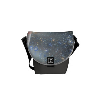 El espacio empaqueta la tierra del planeta bolsas de mensajeria