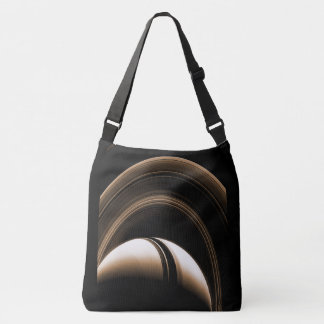 El espacio empaqueta Saturn Bolsa Cruzada