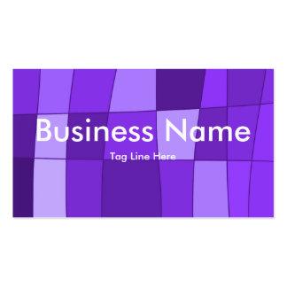 El espejo de la diversión llega la violeta tarjetas de negocios