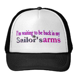 El esperar a estar detrás en mis marineros precios gorras