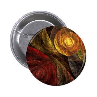 El espiral del botón del arte abstracto de la vida