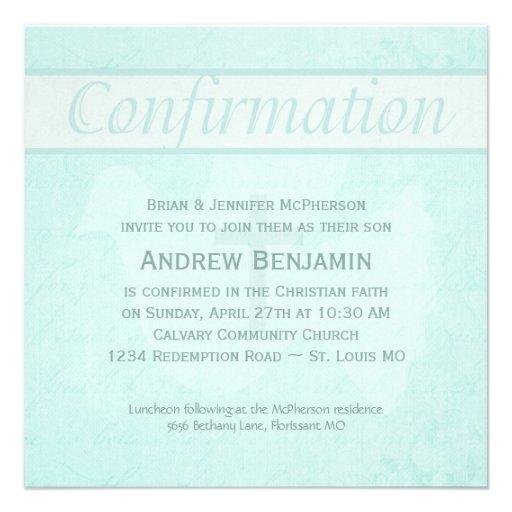 El Espíritu Santo de la confirmación se zambulló c Invitaciones Personales