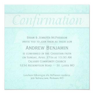 El Espíritu Santo de la confirmación se zambulló Invitaciones Personales