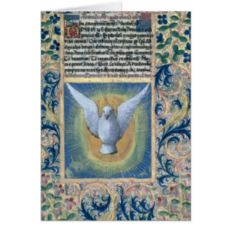 El Espíritu Santo Tarjeta De Felicitación