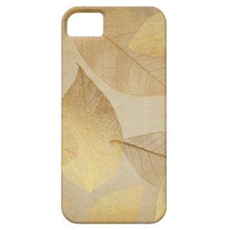 El esqueleto sale del oro y del cobre funda para iPhone SE/5/5s