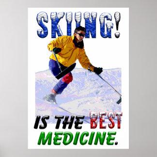El esquí es la mejor medicina impresiones