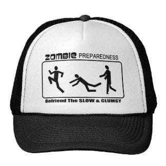 El estado de preparación del zombi Befriend diseño Gorra