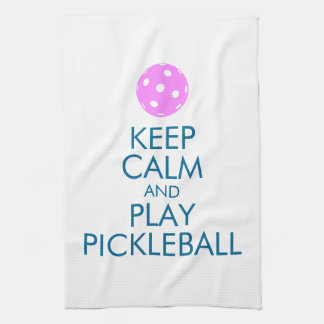 El estallido de Pickleball se divierte la toalla