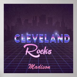 el estilo Cleveland de los años 80 oscila arte de