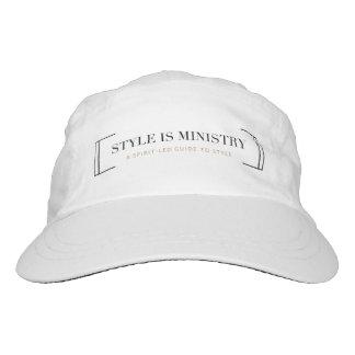 El estilo es gorra del ministerio