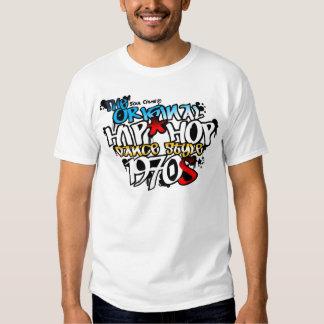 El estilo original de la danza de Hip Hop Camisas
