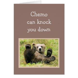 El estímulo Chemo puede golpearle para tragar Tarjeta De Felicitación