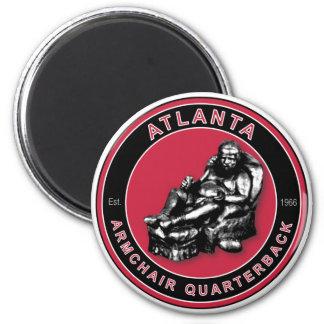 El estratega de la butaca - fútbol de Atlanta Imán Redondo 5 Cm