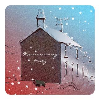 El estreno de una casa de la nueva casa invita invitación 13,3 cm x 13,3cm