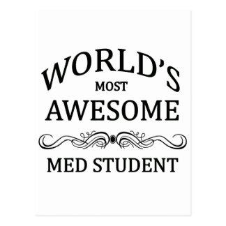 El estudiante más impresionante del MED del mundo Postal