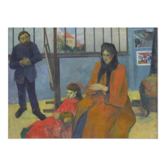 El estudio de Schuffenecker de Paul Gauguin Comunicado