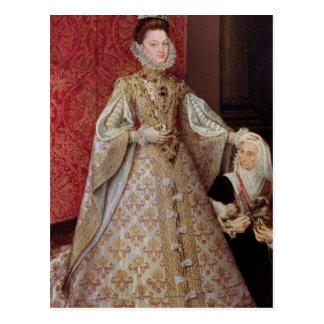 El Eugenia de Isabel Clara de la infanta con Postal