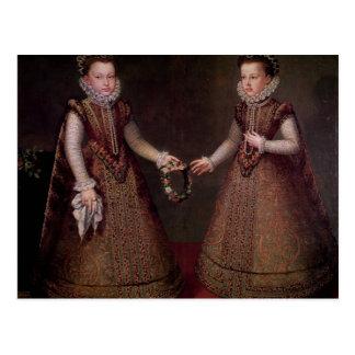 El Eugenia de Isabel Clara de las infantas Postal