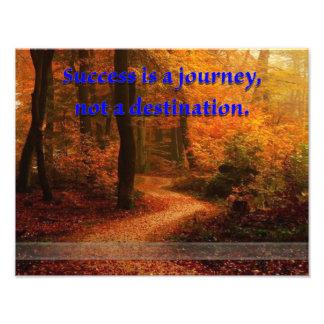 El éxito es un viaje foto