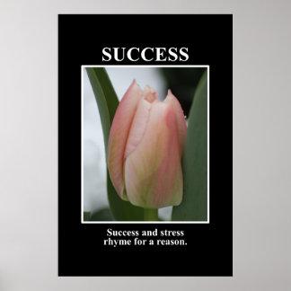 El éxito rima con la tensión por una razón [el XL] Póster