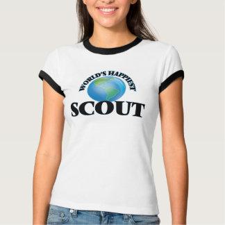 El explorador más feliz del mundo camiseta
