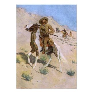 El explorador por Remington, vaqueros de la Anuncios Personalizados